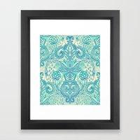 Botanical Geometry - Nat… Framed Art Print