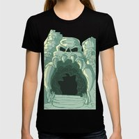 Castle Womens Fitted Tee Black SMALL