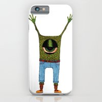 One eyed hipster iPhone 6 Slim Case