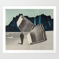 the stuntdriver's lament Art Print