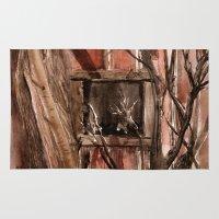 Barn Window Rug