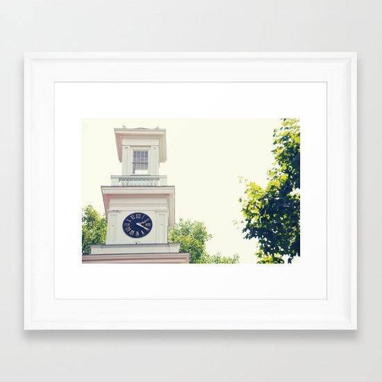 2:20 Framed Art Print