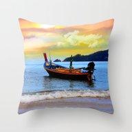 Thailand Throw Pillow