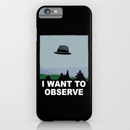 I Want to Observe iPhone & iPod Case