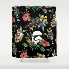 The Floral Awakens Shower Curtain