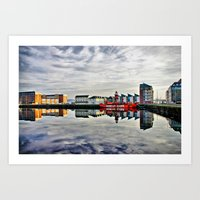 Carr Light Ship Dundee Tayside Art Print