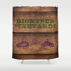 Dionysus Vineyards Shower Curtain