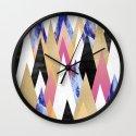 Magic Peaks Wall Clock