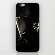 V for Vendetta (e5) iPhone & iPod Skin