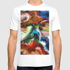 W w w ord White Mens Fitted Tee SMALL