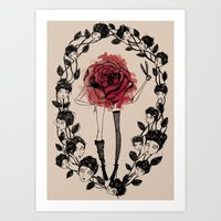 The wreath Art Print