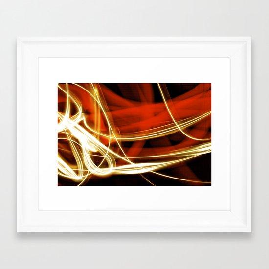 merging light III Framed Art Print