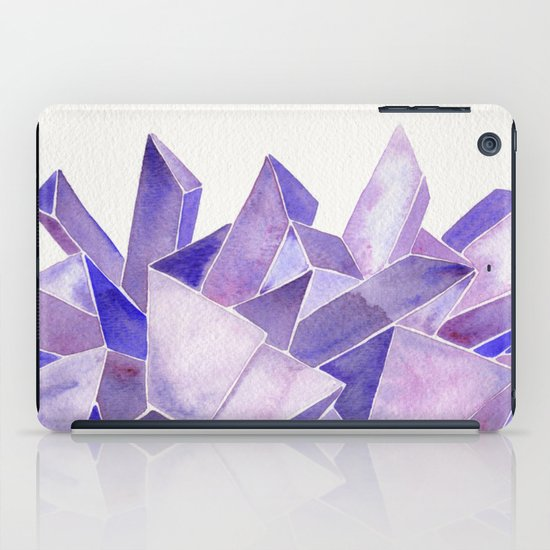 Amethyst Watercolor iPad Case