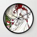 Emilie Nouveau Wall Clock
