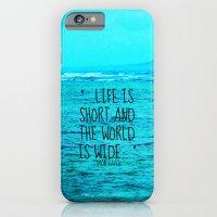 LIFE IS SHORT II  iPhone 6 Slim Case