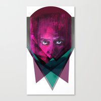 THREE-ANGLE Canvas Print