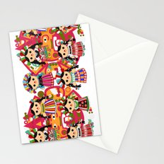 Mexican Dolls Stationery Cards