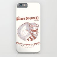 The Raccoon Disguise Kit For Foxes iPhone 6 Slim Case