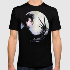 Edward Scissorhands: The story of an uncommonly gentle man. Mens Fitted Tee Black SMALL