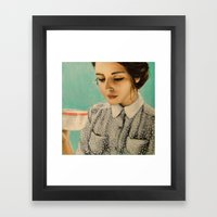 It Was Over Her Second C… Framed Art Print