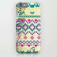 Fluorescent Aztec iPhone 6 Slim Case