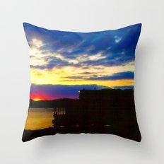 Gone So Fast Throw Pillow