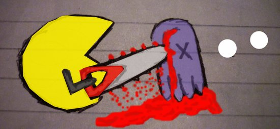 killer pacman Art Print