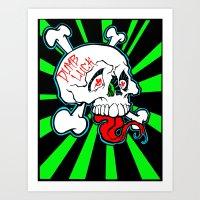 Shanghai Skull Art Print