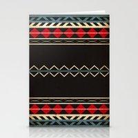 Aztec Dark Stationery Cards