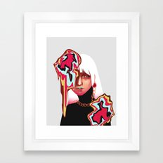 Decoy Framed Art Print