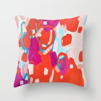Color Study No. 7 Throw Pillow
