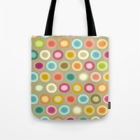 Polka Buffy Tote Bag