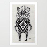 t e z z a  Art Print