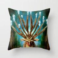 Princess Mononoke The De… Throw Pillow