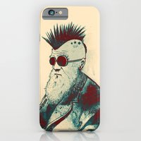 iPhone & iPod Case featuring Evolution of Charles by nicebleed
