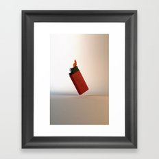 Catch a Fire Framed Art Print