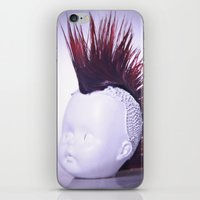 Rebelious Young Person iPhone & iPod Skin