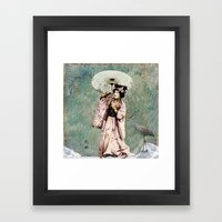 Japanese Snow Queen Framed Art Print
