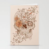Disintegrate (A Violent Decay):  The Fragile Intensity of Existence Stationery Cards