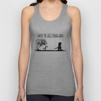 Where The Wild Things We… Unisex Tank Top