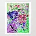 HOT MESS 3 Art Print