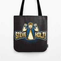 Steve Holt! Tote Bag