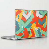 chevron Laptop & iPad Skins featuring Chevron by INDUR