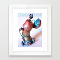 DickBot Framed Art Print