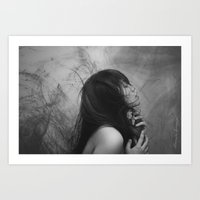 Between The Skies And Th… Art Print