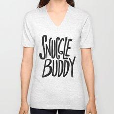 Snuggle Buddy x Blue Unisex V-Neck