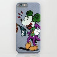 iPhone Cases featuring Why So Serious?  by Eric Wirjanata