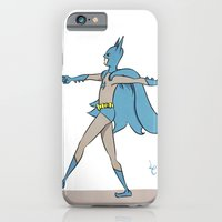 iPhone & iPod Case featuring The Darkest Knight by Liam Clark