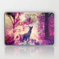 Alone In The Magic Fores… Laptop & iPad Skin