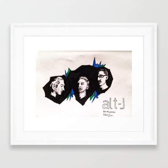 Alt-J Framed Art Print